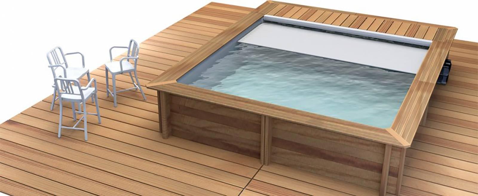 tarif d une piscine bois semi enterree