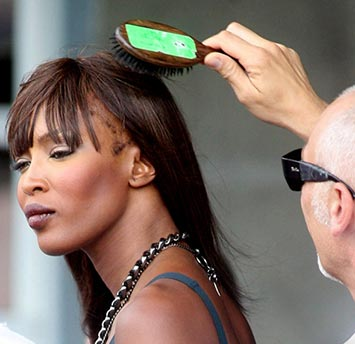 Image result for naomi campbell traction alopecia
