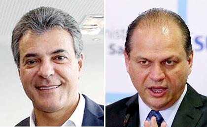 Beto Richa e Ricardo Barros
