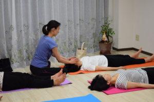 瞑想ヨガヘッドマッサージ