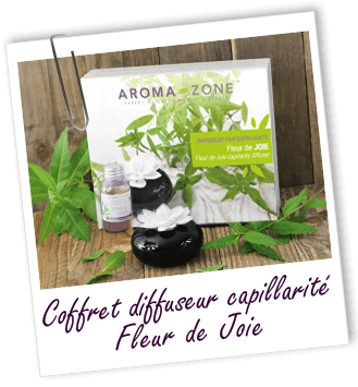 Coffret diffuseur capillarité Fleur de Joie Aroma-Zone