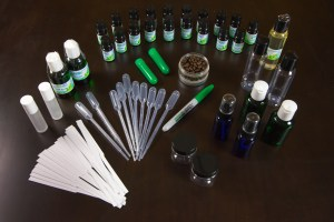 Supplies used for Aromatherapy Certification Online Home Study Course
