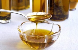 Bain huiles cheveux secs