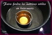 bain-marie beurre karité cire d'abeille et huile de coco