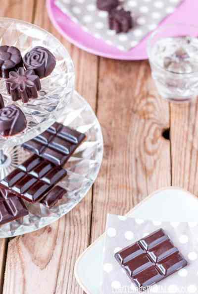 Easy Homemade Healthy Chocolate Bars