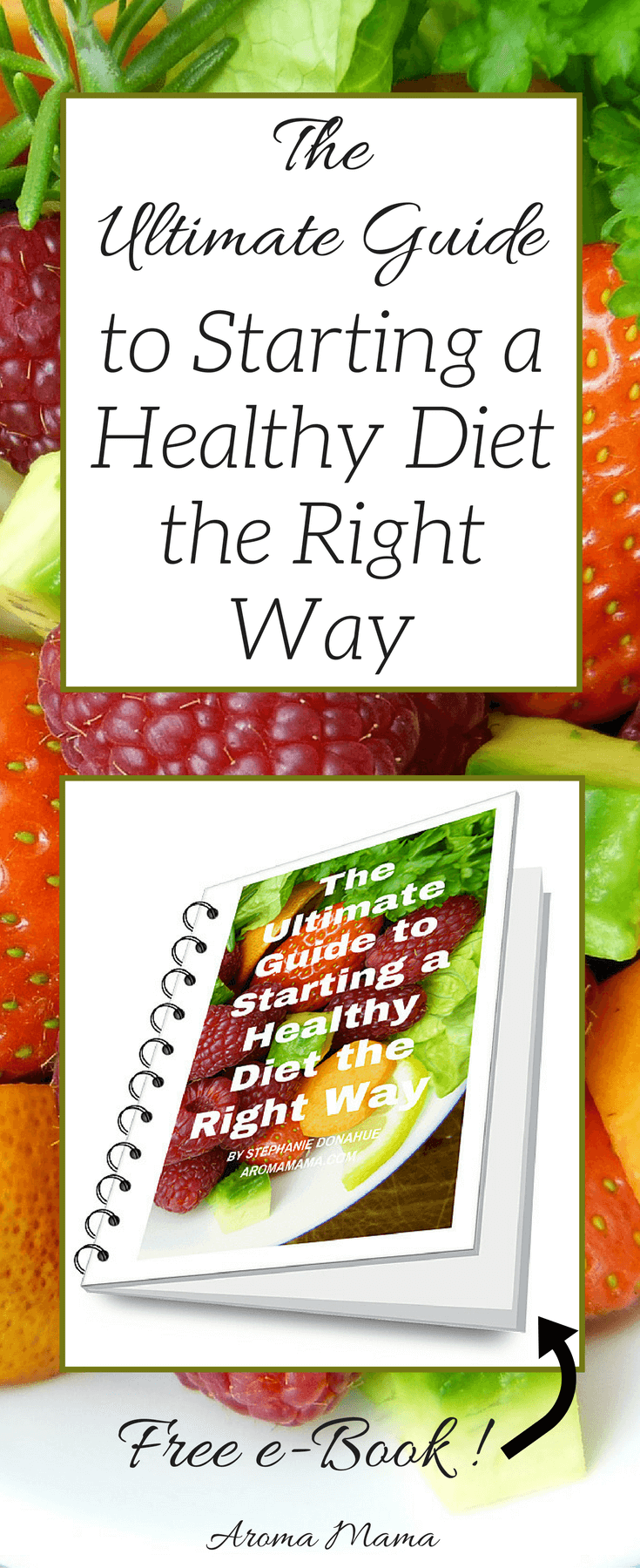 Are you sick and tired of being sick and tired? Going on a healthy diet may be just what you need. This short e-book lays out all the steps for you to take before starting a diet for your best shot at success!