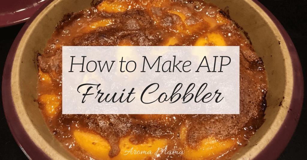 AIP Fruit Cobbler