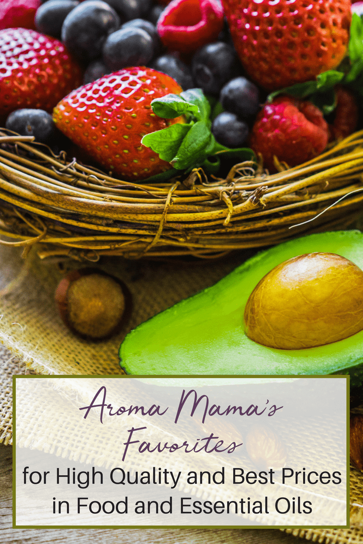 Aroma Mama's Favorites is a resource for high-quality food and essential oils at the best prices.