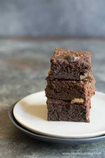 Paleo Delicata Squash Coconut Flour Brownies
