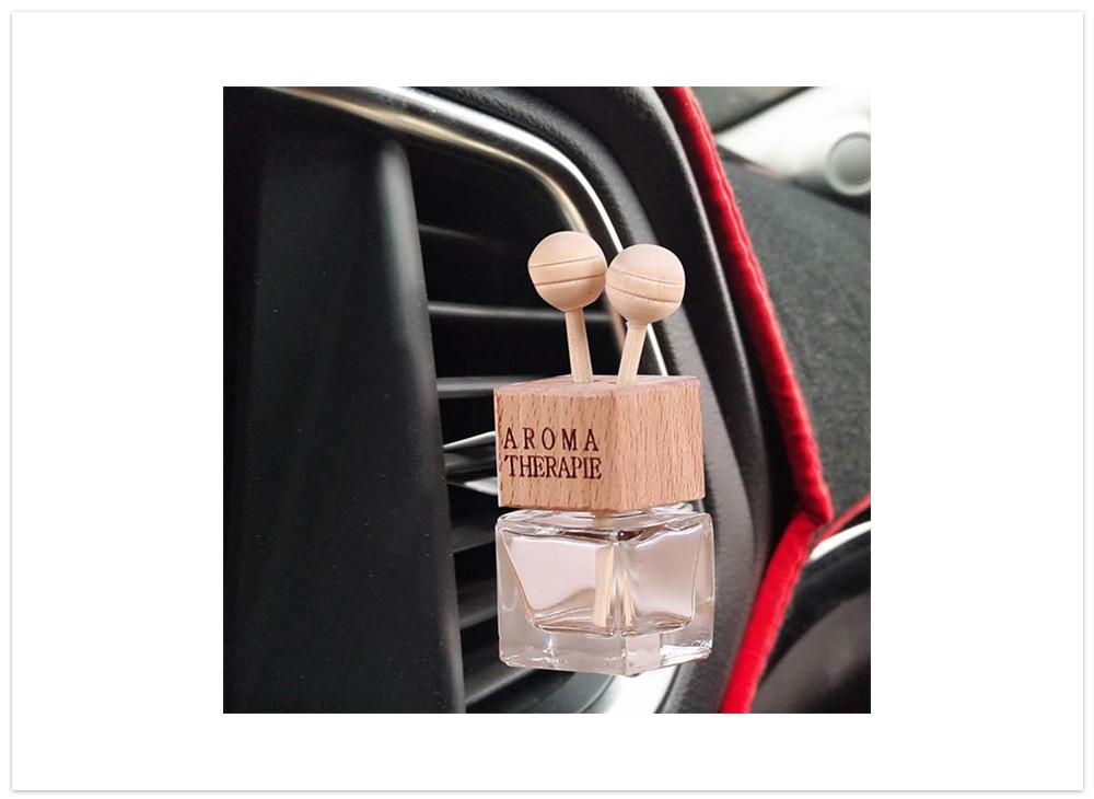 Aroma difuser do auta fľaška s paličkami
