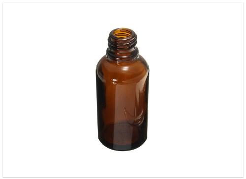 fľaška sklenená
