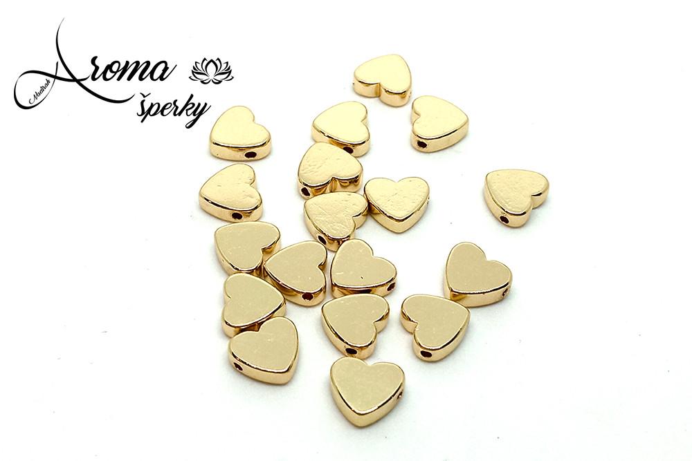 Hematit srdce zlaté