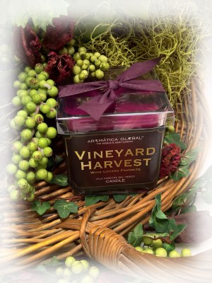 Vineyard Harvest™ Square Candle