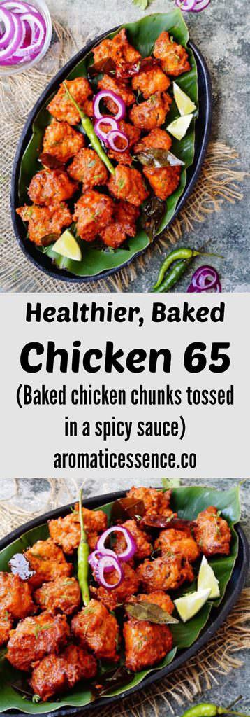 baked chicken 65 | Indian fried chicken
