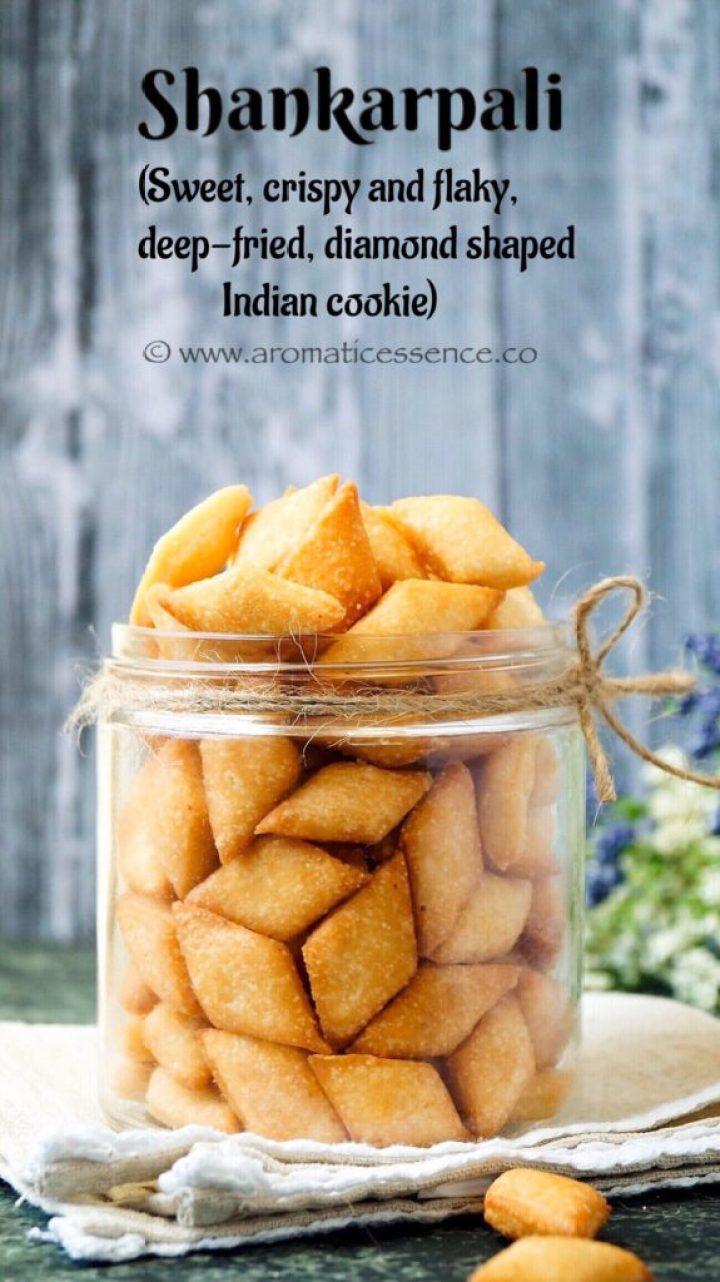 Shankarpali | Shakkarpara | Shakar Pare Recipe