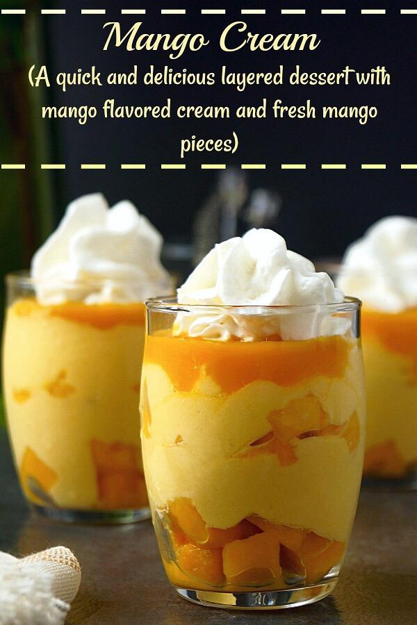 Mango Cream | Indian Mango Cream