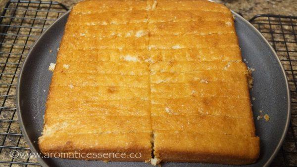 Cake Rusk | Indian Cake Rusk (Eggless)