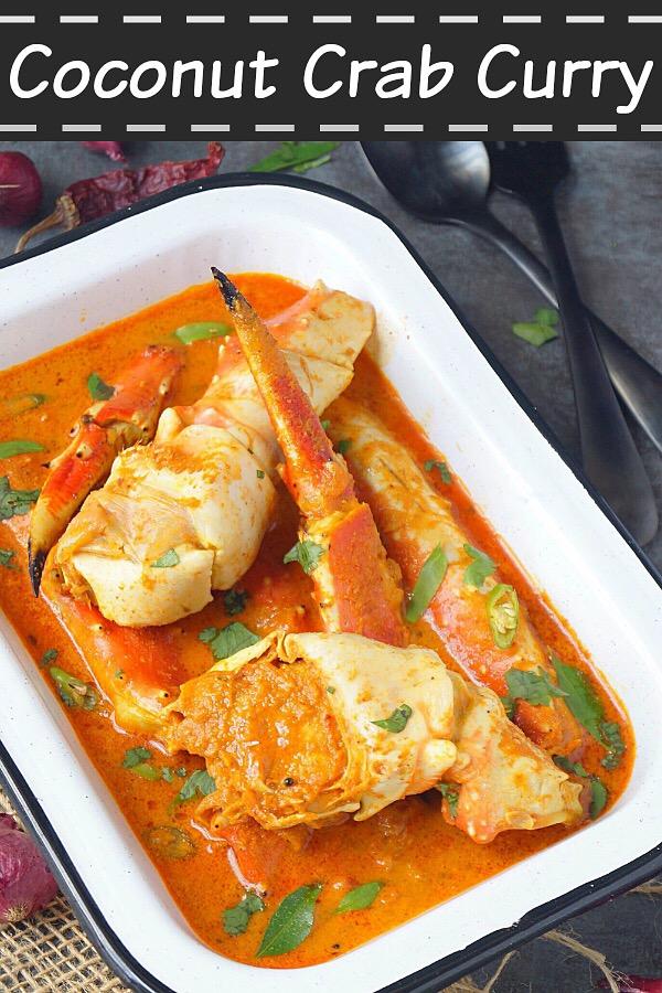 Crab Curry Recipe With Coconut Kerala Njandu Curry Aromatic Essence