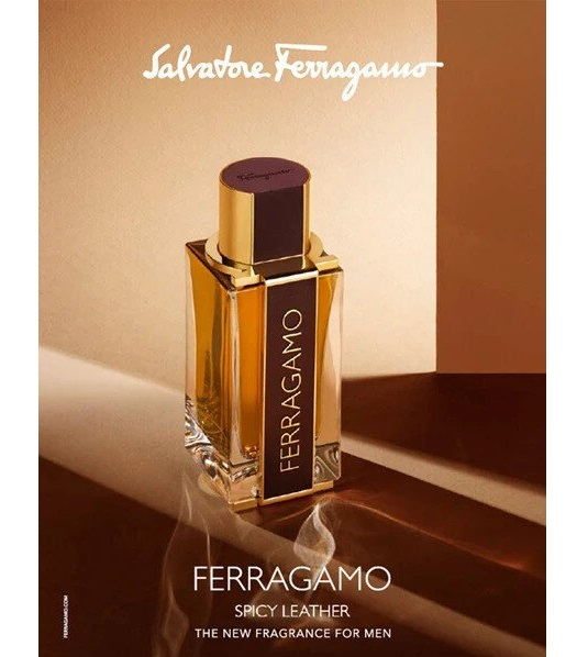 عطر جلدي من سلفاتوري فيراغامو SALVATORE FERRAGAMO SPICY LEATHER