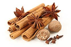 Cinnamon, Anise, Nutmeg and Clove