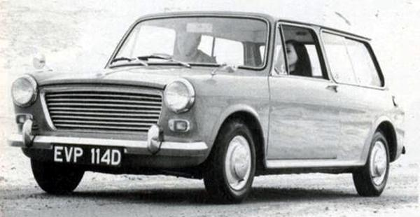Estate version was just as stylish as the saloon: Practical and compact, it made a very appealing package. According to Dr Alex Moulton's own records from the time period, electrical self-levelling suspension was always intended for this model...