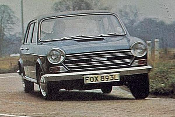 Sure footed front wheel drive chassis ensured that the ADO17 continued the tradition for exemplary road  manners started by the Mini and then augmented by the ADO16.
