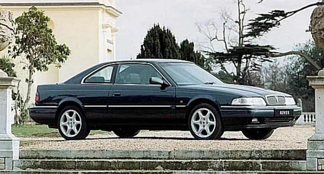 The cars : Rover 800 Coupé