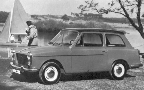 The Austin A40 symbolises the start point of BMC's counterfactual history: conventional engineering married with Pininfarina styling.