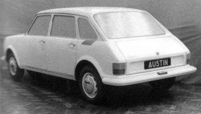 At this stage in the proceedings, ADO14 still had a separate bootlid, like the 1100 and 1800, although the latter car's side doors were present and correct.