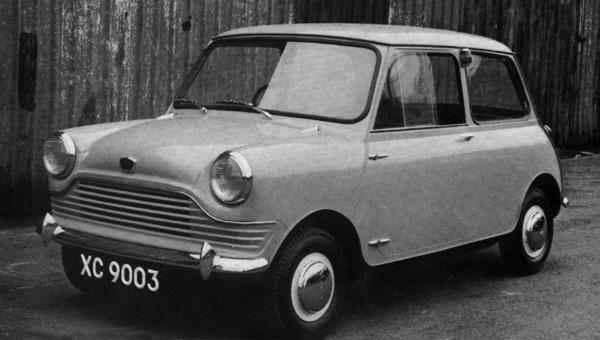 XC9003, late 1957 A later version of the July 1957 design