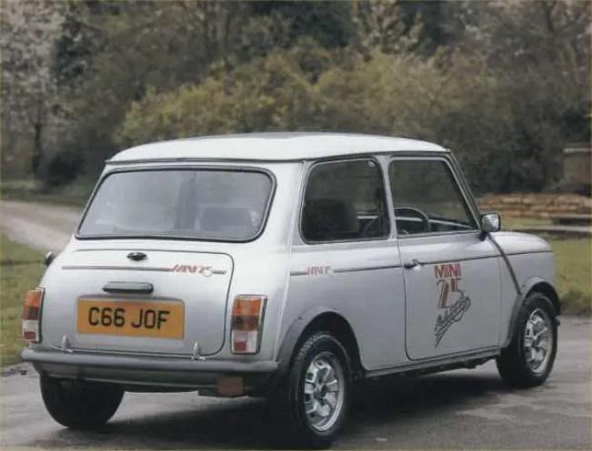 Mini 25: a car to remember...