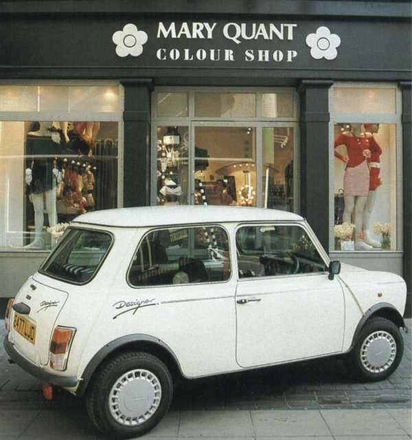 The Mini Designer: Bold interior colours designed by Mary Quant marked this one out.