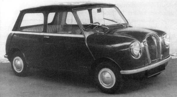 Mini development story: One of the first 'Orange Box' prototypes from 1957. (Picture: Ian Nicholls)