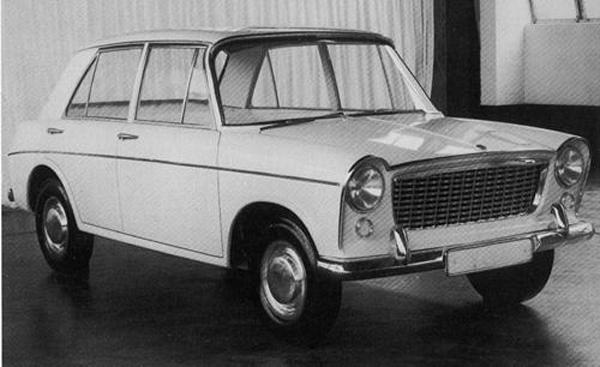 By January 1959, Pininfarina had produced this comprehensive re-working of the original XC9002 proposal. This version was considered to be too complictated (and therefore too costly) to put into production, but a simplified version was scaled-up as a proposal for the ADO17 project.