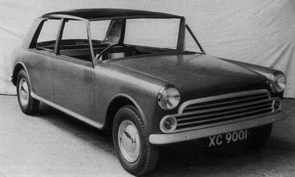 Pininfarina also prepared their version of the XC9001 during October 1958 – and this mock-up, which was  being prepared concurrently with the in-house Rootes-style Landcrab would show in what direction the  Italians wanted to head. Styling shows a strong likeness to early versions of the XC9002 – and this four-  light style was eventually dropped in favour of a refined version of the Landcrab.