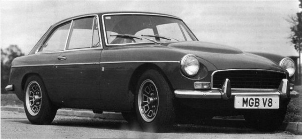 A 1972 Ken Costello MGB V8 conversion, as tested by AUTOCAR in May 1972. British Leyland wasn't best pleased with the conversion, but had already decided to build its own version. Note the bonnet bulge. (Picture: Ian Nicholls)