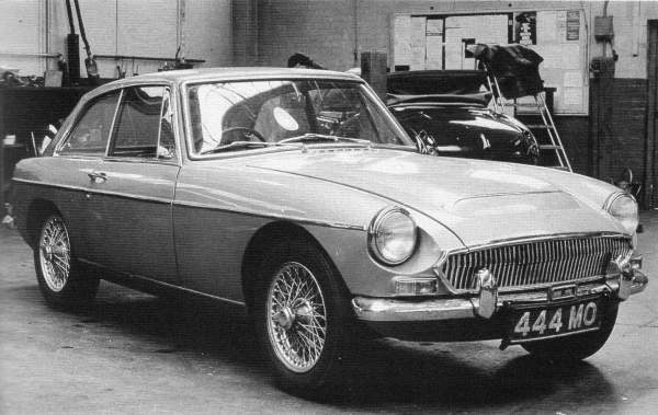 The ill-fated Austin-Healey 3000 replacement. Codenamed ADO51, the new-generation's Austin-Healey's grille was styled by Don Hayter. (Picture: MG - The Untold Story, by David Knowles)