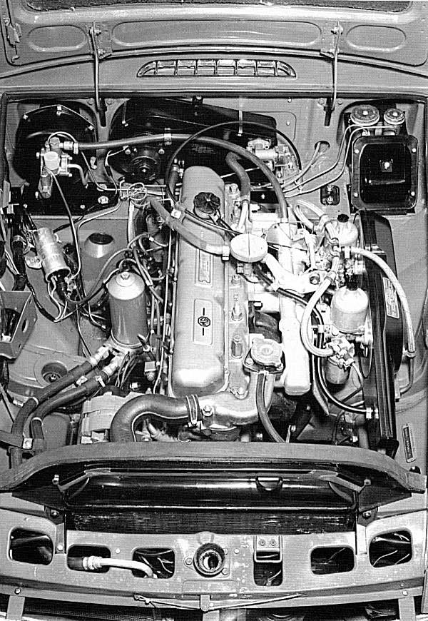 The 3-litre engine was not a winner in standard form... (Picture: Ian Nicholls)