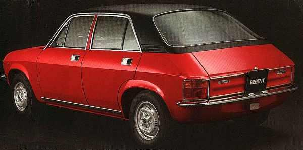 Innocenti Regent was not a hit with the car-loving Italians...