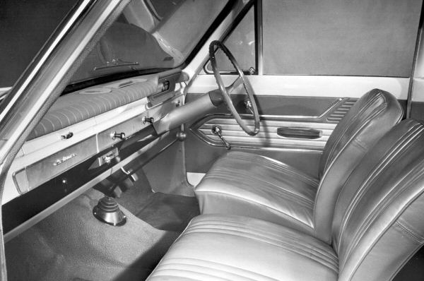 Ford Cortina Mk1 Interior