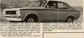 A rare wilderbeast - 1971's Hillman Avenger TC