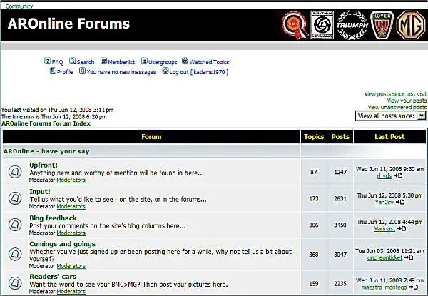 AROnline forum... will back soon.