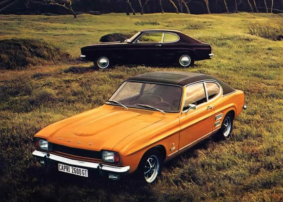 The Ford Cortina lineup