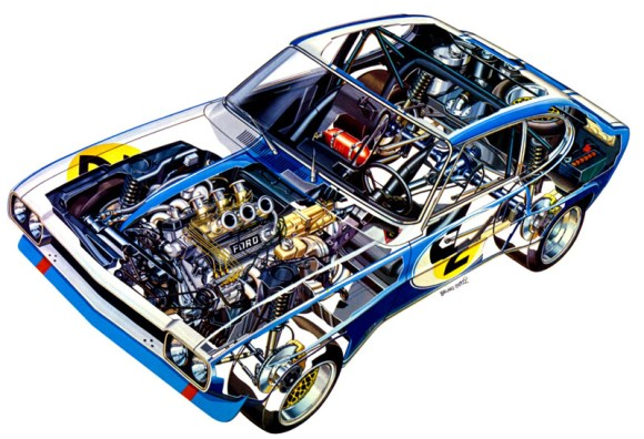 Ford Capri RS2600