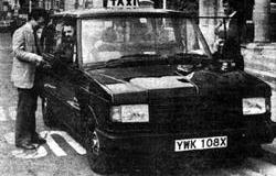 The first CR6 prototype on trial in London in 1981
