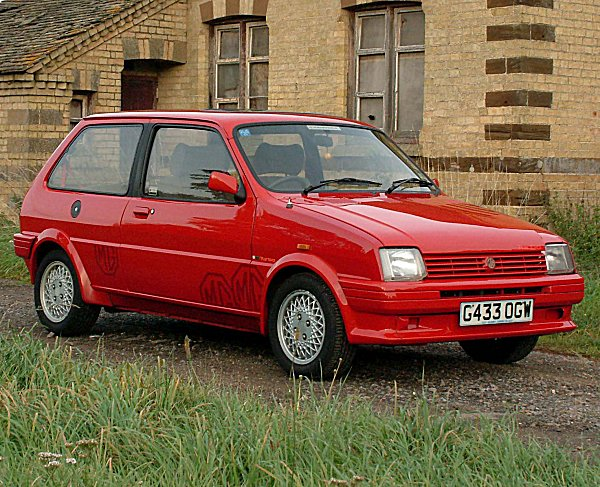 Resplendent in bright red, this MG Metro is still more than capable of turning heads today...