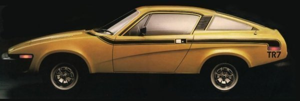 Coupe style suits the TR7.