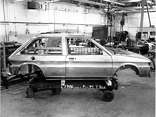 The long-awaited picture of the three-door Maestro proposal. (Photo supplied by Richard Bremner)