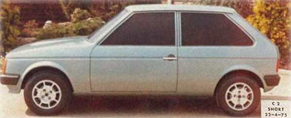 The Chrysler C2-Short was an obvious and expedient project to produce a car to fight in the supermini class... (Picture: www.allpar.com)