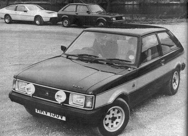 Lotus developed the Sunbeam-Lotus for Chrysler's entry into world rallying. Lotus managed to shoehorn its own 2174cc 16V slant-four engine under the bonnet of the Sunbeam, and the result was an absolutely superb road and rally car. 2308 were produced. (Picture: Autocar magazine)